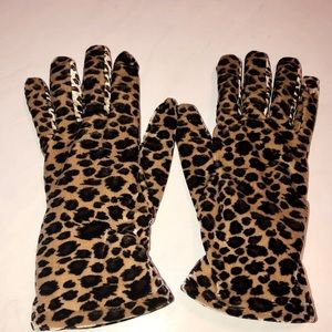 Accessories - Leopard Print Gloves